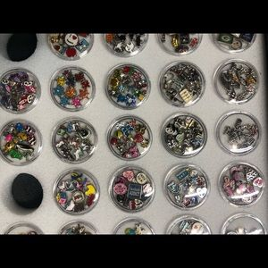 Tons of floating charms